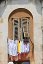 Laundry at Diocletian's Palace Stock Photography