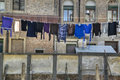 Laundry drying, Venice Italy Stock Photography
