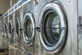 Laundry machine Royalty Free Stock Photo