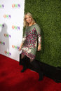 Laura berman los angeles jan arrives at the oprah winfrey network winter tca party at the langham huntington hotel on january in Royalty Free Stock Images
