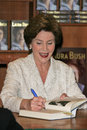 Laura bush at a book signing for spoken from the heart vromans pasadena ca Stock Photo