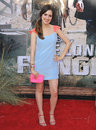 Laura marano ranger at the world premiere of the lone at disney california adventure june anaheim ca picture paul smith Stock Image