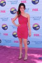 Laura marano at the teen choice awards arrivals gibson amphitheatre universal city ca Stock Image