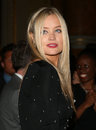 Laura whitmore attending the ppq catwalk show as part of london fashion week ss at goldsmith s hall london picture by henry harris Royalty Free Stock Photos
