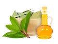 Laurel oil Royalty Free Stock Photo