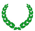 Laurel wreath. Royalty Free Stock Image