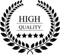 Laurel wreath for quality award