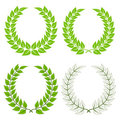 Laurel wreaths Royalty Free Stock Photography