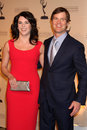 Lauren Graham,Peter Krause Royalty Free Stock Image