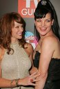 Lauren Holly,Pauley Perrette Stock Images