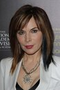 Lauren Koslow at the 39th Annual Daytime Emmy Awards, Beverly Hilton, Beverly Hills, CA 06-23-12 Stock Image