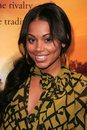 Lauren london at the world premiere of stomp the yard the cinerama dome hollywood ca Stock Photo