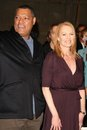 Laurence Fishburne, Marg Helgenberger Royalty Free Stock Images
