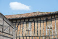 Lautrec france old village tarn midi pyrenees medieval with half timbered buildings Stock Photo
