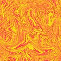Lava background wonderful liquid marble. The combination of yellow and red. Orange wallpaper liquid abstract