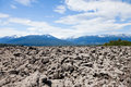 Lava bed nisga'a memorial provincial park bc canada Royalty Free Stock Photo