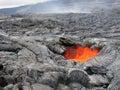 Lava Skylight Royalty Free Stock Photo