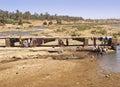 Lavar-lugar marroquí Imagen de archivo