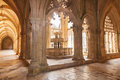 Lavatory in the Royal cloister of Batalha monastery Royalty Free Stock Photos