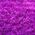 Lavender  fragrance  bath salts crystals Royalty Free Stock Photo