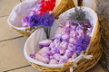 Lavender little bag Stock Image