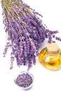 Lavender oil Royalty Free Stock Photo