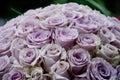 Lavender Roses Centerpiece Flo...