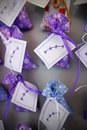 Lavender souvenirs in croatia rovinj Royalty Free Stock Photography