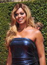 Laverne cox los angeles ca august at the creative arts emmy awards at the nokia theatre la live Royalty Free Stock Photo