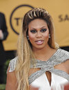 Laverne cox los angeles ca january at the screen actors guild awards at the shrine auditorium Royalty Free Stock Photography