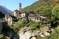 Lavertezzo, Verzasca Valley, Switzerland Royalty Free Stock Photo