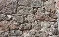 Lavoro in pietra della massoneria Immagine Stock