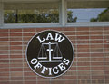 Law Offices Royalty Free Stock Photo