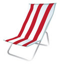 Lawn chair 2 Stock Photo