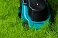 Lawn mover (frontsdie, uncut) Royalty Free Stock Photo