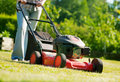 Lawn mower Stock Photos