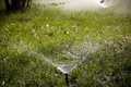 Lawn Sprinkler Royalty Free Stock Photo