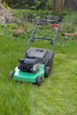 Lawnmower Stock Photography