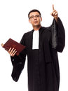 Lawyer man portrait Stock Photography