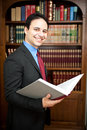 Lawyer portrait Stock Photography