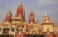 Laxminarayan temple new delhi india Stock Photography