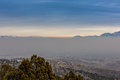 Layer of Smog Royalty Free Stock Photo