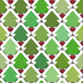 Layered christmas tree seamless background tile with rows of trees and drop shadows please note this file is eps it uses Royalty Free Stock Image
