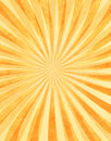 Layered Sunbeams on Paper Royalty Free Stock Photo