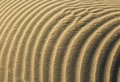 Layers of sand wonderful and clean waves sands Royalty Free Stock Photography