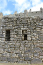 Layers of Stone Buildings of Machu Picchu Royalty Free Stock Photo