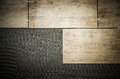 Laying ceramic tiles on a special cement grout Royalty Free Stock Image
