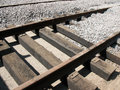 Laying tram tracks Royalty Free Stock Photography