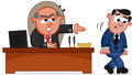 Layoff Cartoon Royalty Free Stock Images