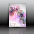 Layout abstract design flyer Royalty Free Stock Images